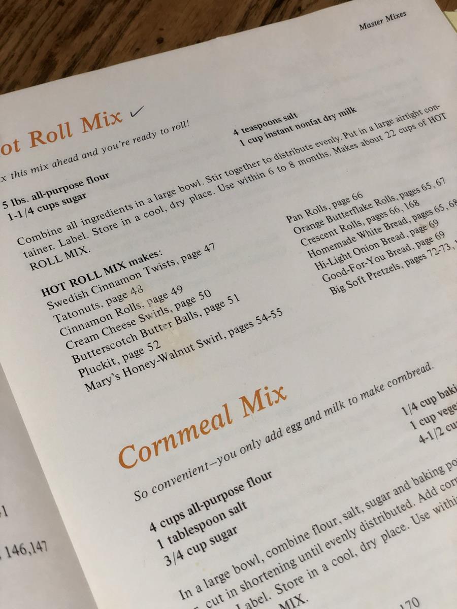 Make A Mix Cookbook Recipe
