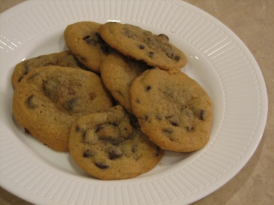 Martha Stewarts chocolate chip cookies