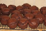 picture of chocolate muffins