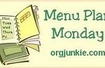 Menu Planning Mondays