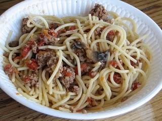 Pasta with easy italian