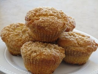 Coffee Cake Muffins - Lynn's Kitchen Adventures