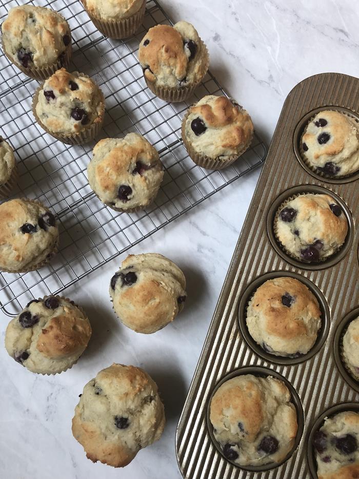 Emeril's Blueberry Muffins