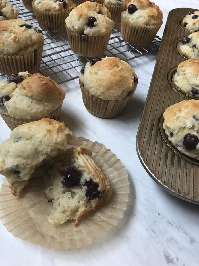 Emeril's Blueberry Muffins