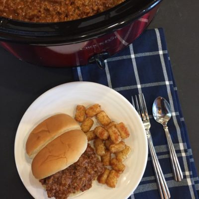 Slow Cooked Sloppy Joes