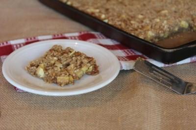 Caramel Apple Bars -
