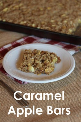 Caramel Apple Bars_