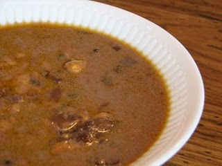 PW Black Bean Soup