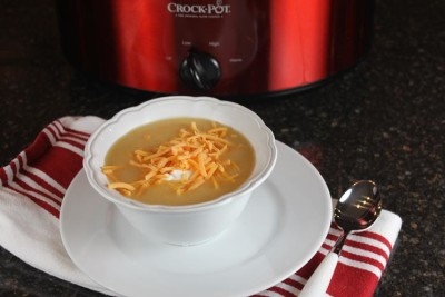 crock pot baked potato soup