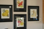 Framed Fruit Print