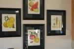 Framed Fruit Print