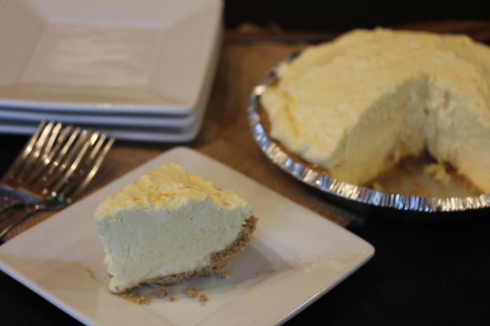 Eggnog-Pie