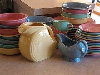 pastel fiestaware