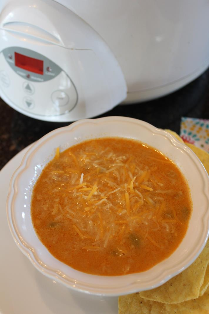 Enchilada Chicken Soup