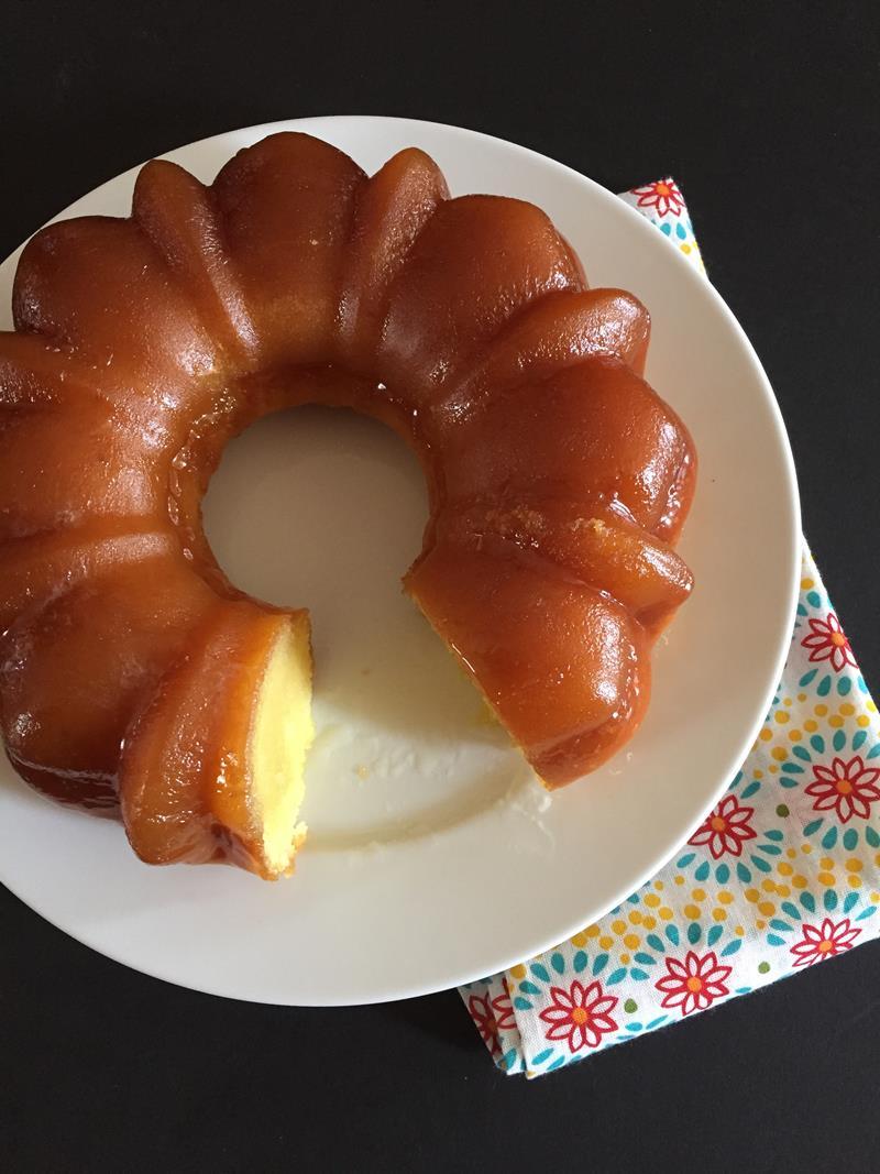 Grandma's Butter Rum Cake