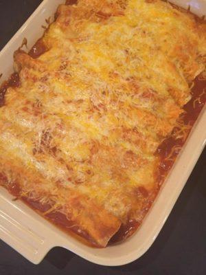 Cheese Beef Enchiladas
