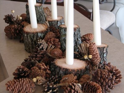 Frugal Holiday Centerpiece - Lynn's Kitchen Adventures