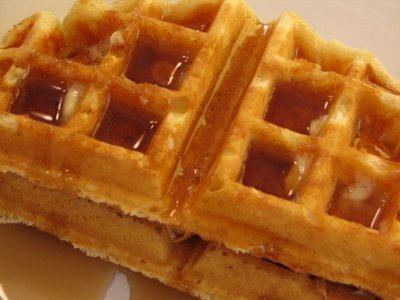 Overnight CI Whole Wheat waffles