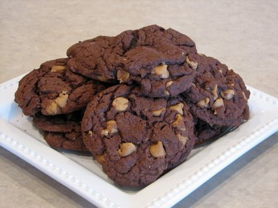 easy choc. cookies