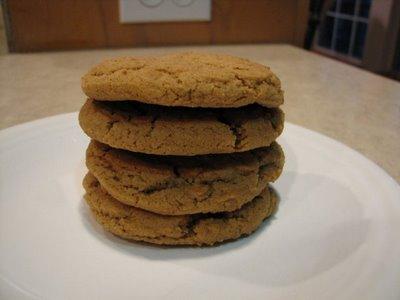 whole wheat molasses cookies