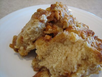 butterscotch bread pudding 2