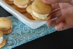 Vanilla Wafer Ice Cream Sandwiches-Two Ingredient Dessert