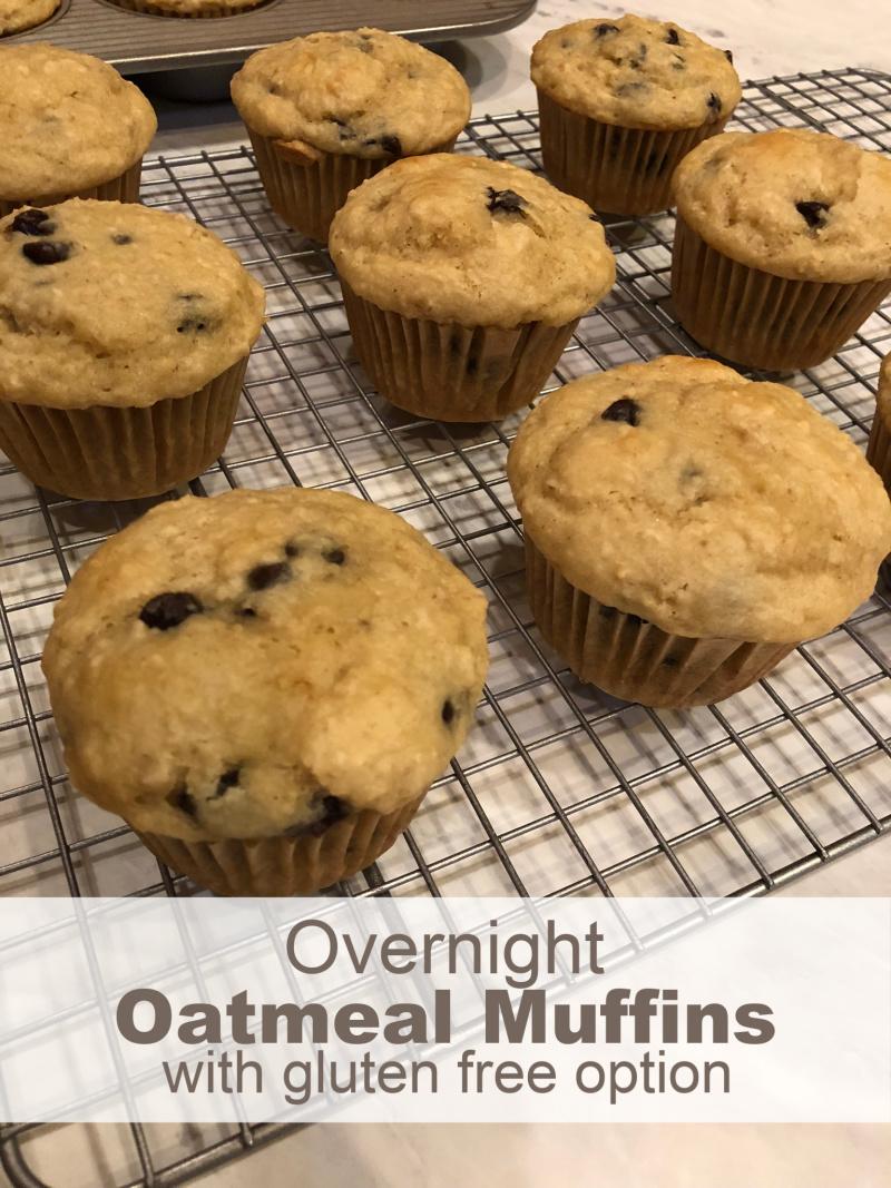 Overnight Oatmeal Muffins