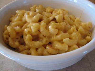 Rice Cooker Mac and Cheese