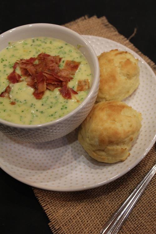 Homemade Panera Bread Broccoli Cheddar Soup