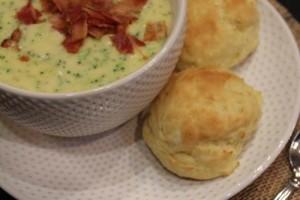 Homemade Panera Bread Broccoli Soup