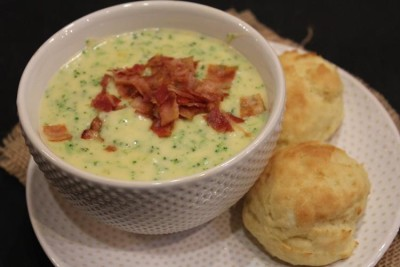 Homemade Panera Bread Broccoli Soup