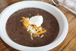Paula Deen's Black Bean Soup