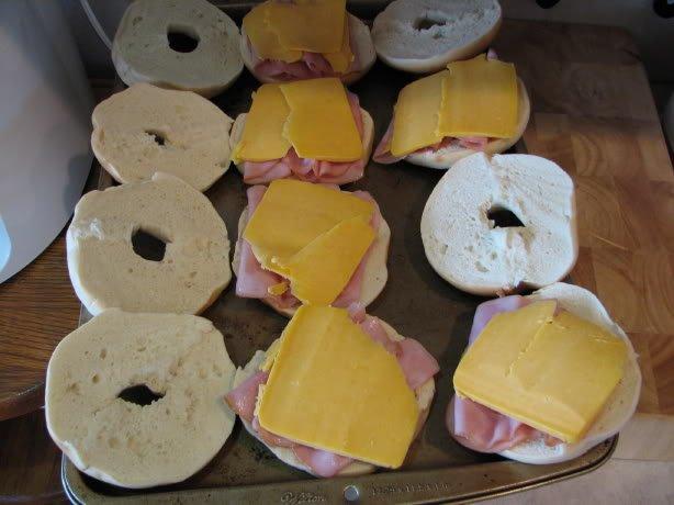 Bagel Breakfast Sandwich - Lynn's Kitchen Adventures