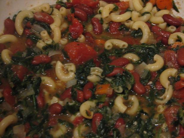 spinach minestrone