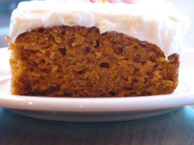 Paula's Pumpkin Cake