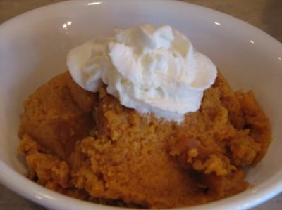 cp pumpkin dessert