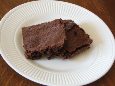 home made brownie mix brownie
