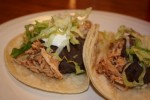 Slow Cooked Chili Chicken Tacos