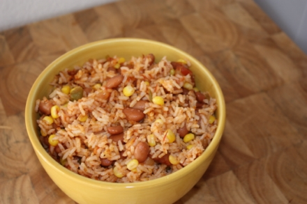 Mexican Rice in Rice Cooker