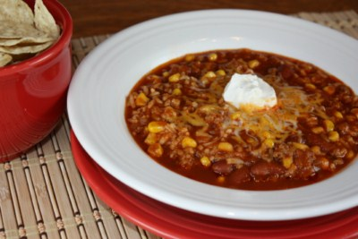 Estellas taco soup