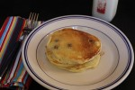 Easy Sour Cream Blueberry Pancakes