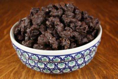 chocolate craisins