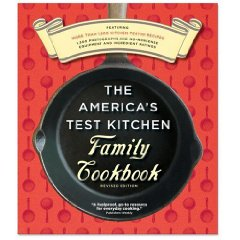 America's Test Kitchen Family Cookbook at Amazon.com