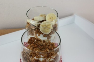 granola sundae