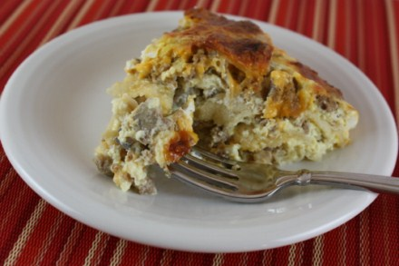 tortilla quiche
