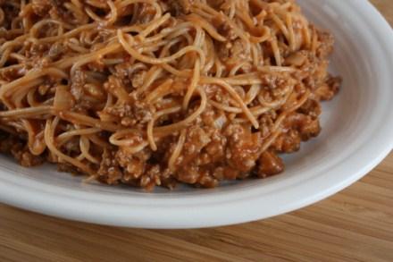 pasta with easy ragu