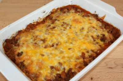 beef and beans casserole