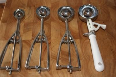 kitchen essentials cookie scoops lynn 39 s kitchen adventures. Black Bedroom Furniture Sets. Home Design Ideas