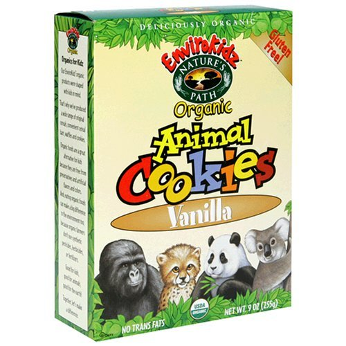 gluten free animal crackers instead of graham crackers. Yes, I know ...