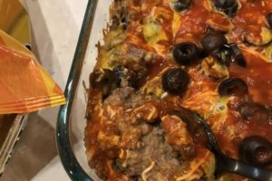 Beef and Bean Bake